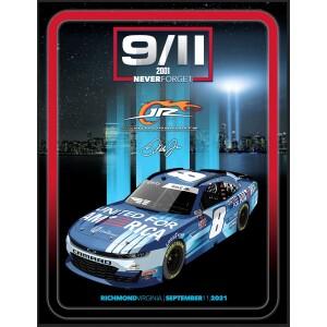 Dale Jr Richmond Race 9/11/21 Poster