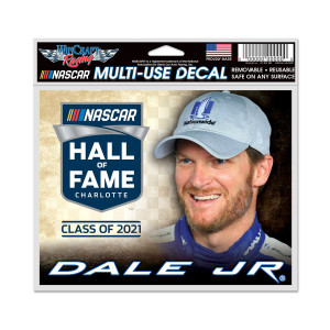 Dale Jr 2021 NHOF Inductee Multi-Use Decal