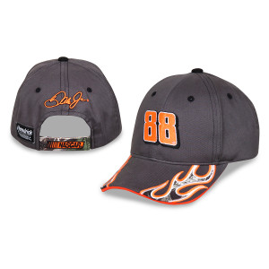 Dale Jr. #88 Boys Camo Flame Hat