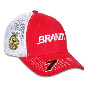 JR Motorsports Justin Allgaier #7 Brandt Team Hat