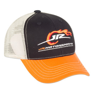 JRM Youth Orange/Black Logo Cap