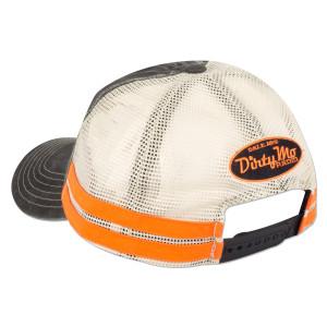Dale Yeah Black/White Stripe Cap