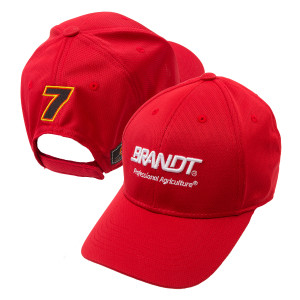JR Motorsports #7 Official 2017 Team Hat - Brandt