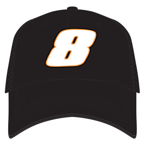 Jr. Motorsports 2019 Black #8 Hat