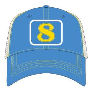 2019 JRM Stylized #8 Meshback Hat