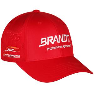 Brandt #7 Jr Motorsports 2020 Red Trucker Hat