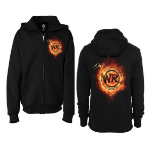 Whisky River Backfire Flame Full Zip Hoodie