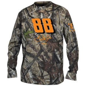 Dale Jr. #88 Camo Long Sleeve T-shirt