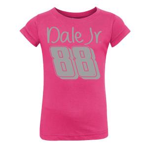 Dale Jr. Toddler Glitter Girl T-shirt
