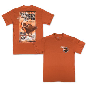 Whisky River Rodeo Poster T-Shirt