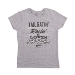 JRM Ladies Grey Jersey Tailgate T-shirt