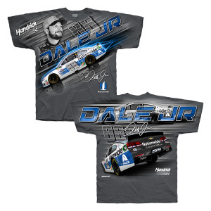 Dale Earnhardt, Jr. Adult Total Print T-shirt - Nationwide