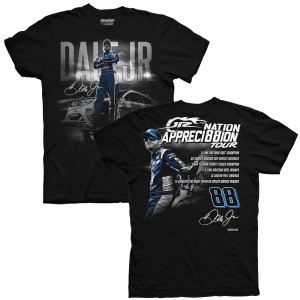 JR Nation Appreci88ion Tour Stats T-shirt