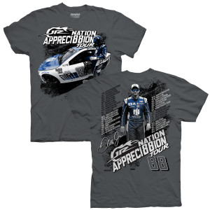 JR Nation Appreci88ion Tour Schedule T-shirt