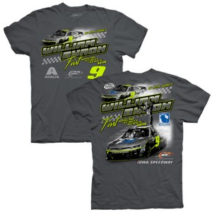 William Byron 2017 NASCAR Xfinity Series No. 9 Axalta Iowa WIN T-shirt