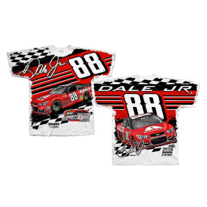 Dale Jr #88 2017 Homestead/Miami Axalta Total Print T-shirt
