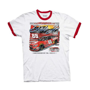 Dale Jr #88 2017 Homestead/Miami Axalta Ringer T-shirt