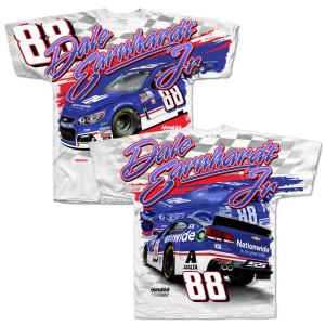 Dale Earnhardt Jr 2017 #88 Darlington Total Print T-shirt
