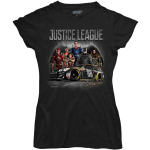 Dale Jr Ladies JL All Character T-shirt