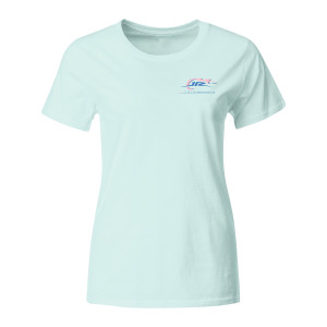 JR Motorsports 2018 Ladies 2-spot Preppy T-shirt