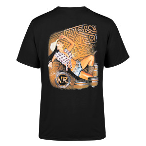 Whisky River 2018 2-spot Pin Up T-shirt