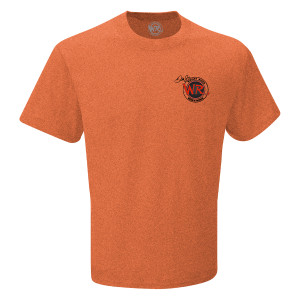 Whisky River T-shirt - Heather Orange