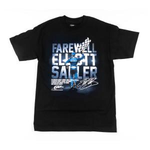 Elliott Sadler #1 NASCAR Retirement Graphic T-shirt
