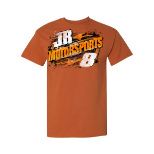 2019 JR Motorsports Legends Built on #'s Orange T-shirt