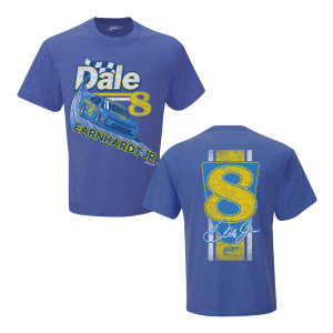 Dale Jr. #8 2019 2-Spot Throwback Hellmann's Blue T-shirt