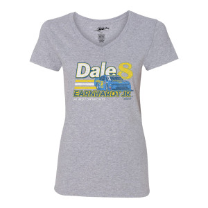 Dale Jr. #8 2019 Ladies Grey Hellmann's Throwback T-shirt