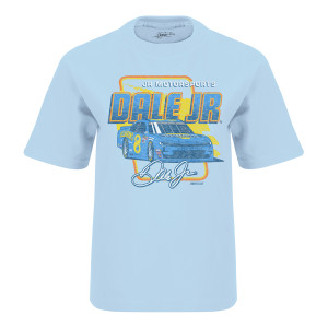 Dale Jr. #8 2019 Youth Light Blue Hellmann's Throwback T-shirt