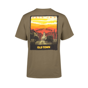 Whisky River Wild West Green T-shirt
