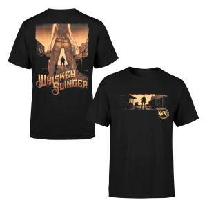 Whiskey Slinger Black T-shirt