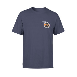 "Whiskey River "" The Best Layover in Town"" Navy T-shirt"