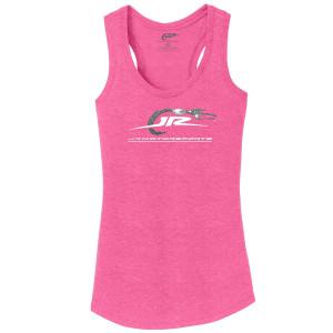 JR Motorsports Racerback Tank - Pink