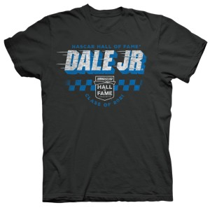 Dale Earnhardt Jr NASCAR Hall of Fame 2021 Vintage T-shirt - Black