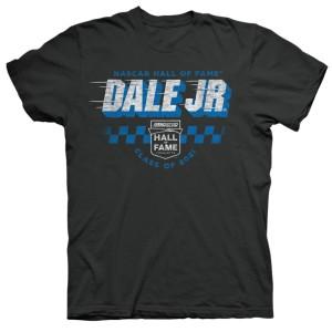 Dale Earnhardt Jr NASCAR Hall of Fame 2021 Vintage T-shirt - Black