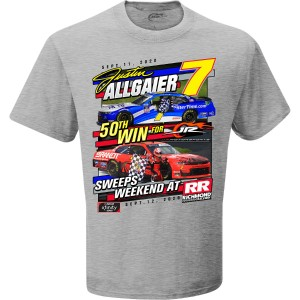 Justin Allgaier Richmond Doubleheader Sweep WIN T-shirt