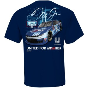 Dale Jr. 2021 United For America Navy Graphic Tee