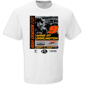 Noah Gragson SPORT CLIPS HAIRCUTS VFW HELP A HERO 200 RACE WIN T-shirt