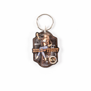 Whisky River Hold On Tight Keyring