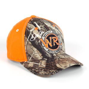 Whisky River Ladies Camo Orange Cap