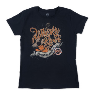 Whisky River Ladies Turn it up T-shirt