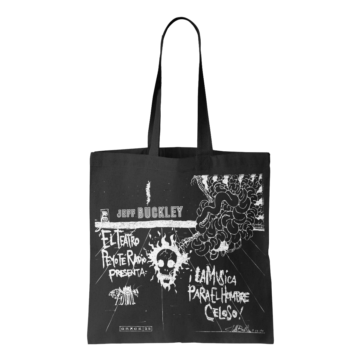 Jeff Buckley Grace Tote Bag