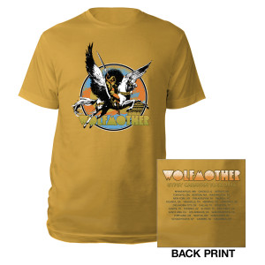 Pegasus Warrior US Itinerary Tee