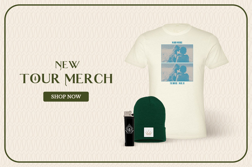 Tour Merch Is Here!