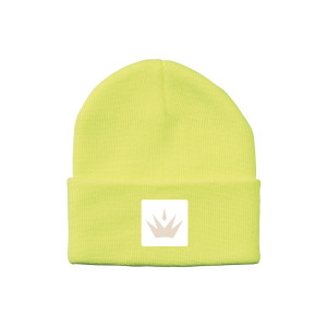 Maren Morris Crown Logo Beanie - Yellow