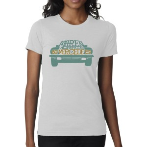 Maren Morris 80s Mercedes Ladies T-Shirt