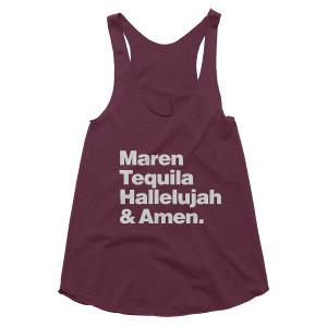 Maren Morris Tequila Triblend Tank