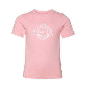 HALO Youth Tee in Pink